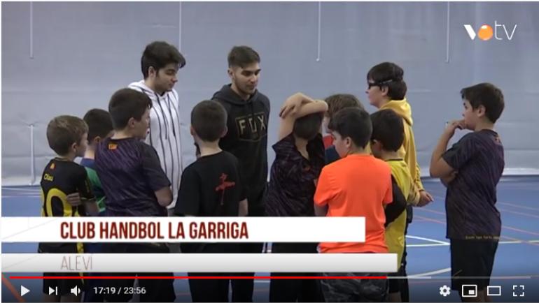 Reportatge VOTV dels alevins de La Garriga